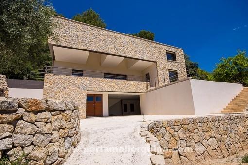 10 casas de arquitectura nica en mallorca porta - Normativa casas prefabricadas mallorca ...