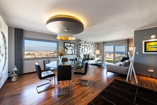 Ático espectacular en Palma con unas vistas de 360 grados a toda Mallorca