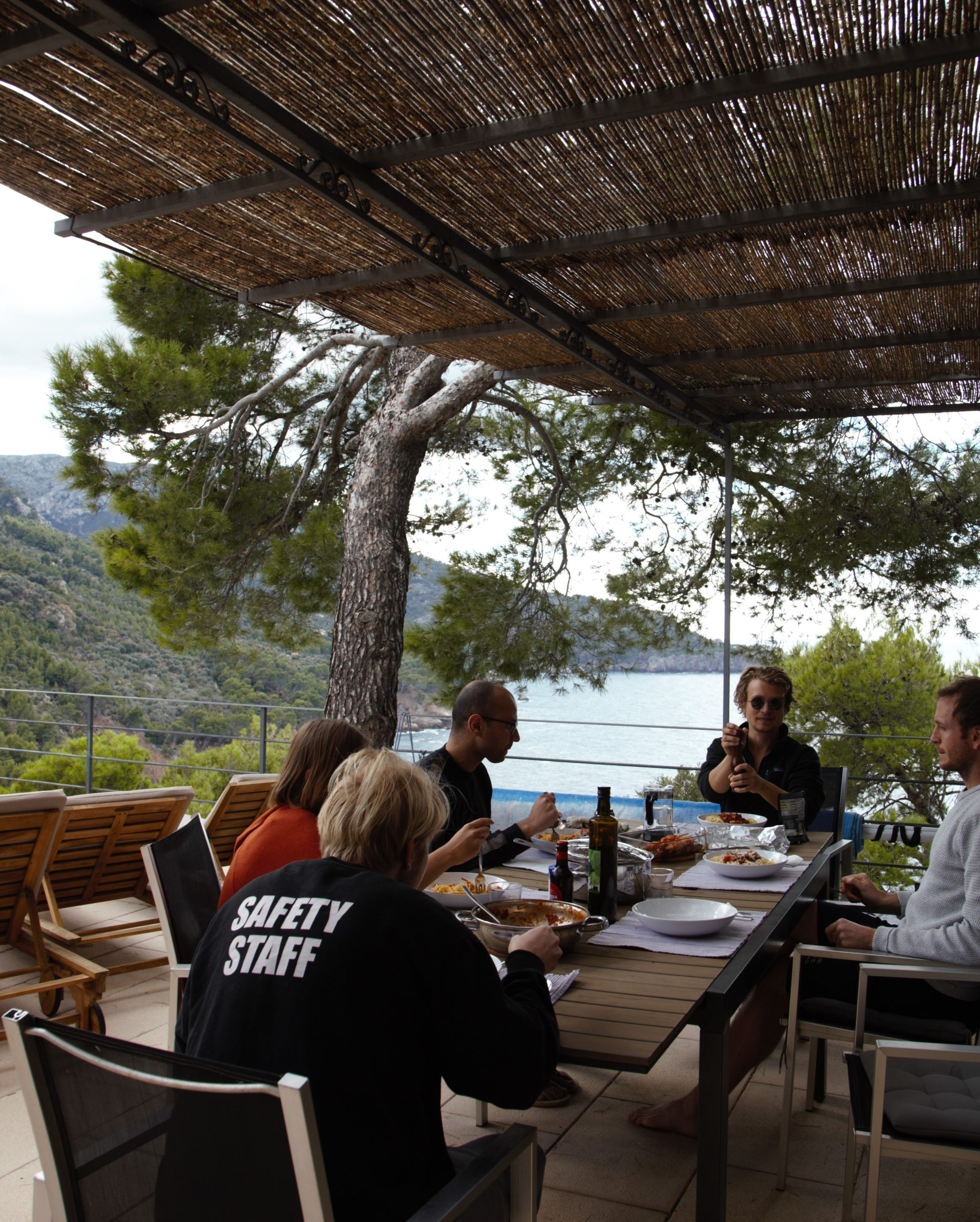 Dudek con su equipo en Mallorca Fuente imagen: Stefanie Claudia Müller