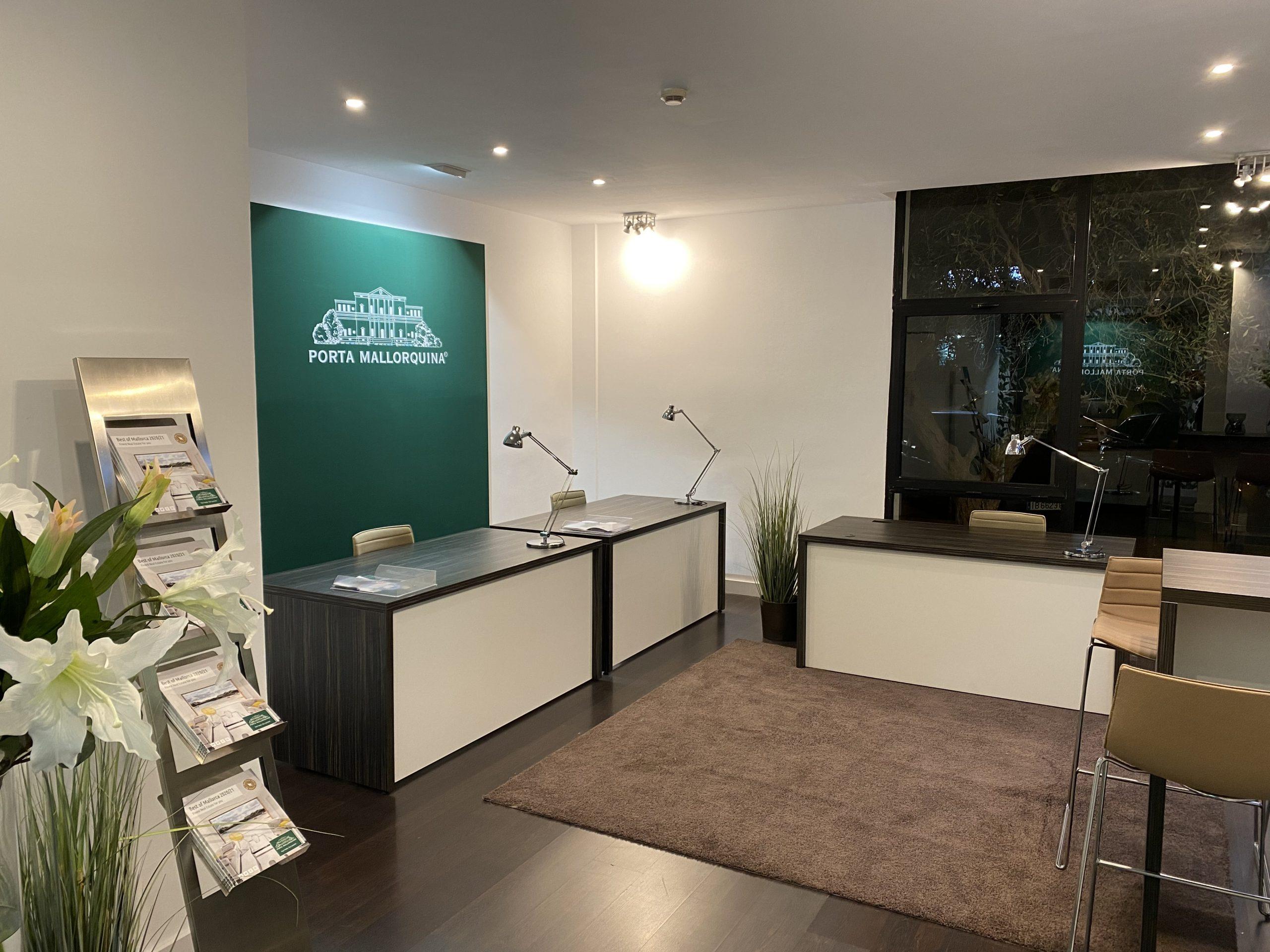 The new real estate shop from Porta Mallorquina in Santa Ponsa