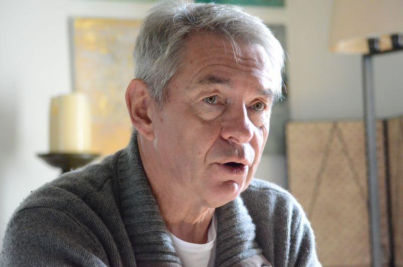 Mallorquin por elección Klaus Heinemann realizó su sueño en la isla de tener su propia bodega. Imagen: Stefanie Müller