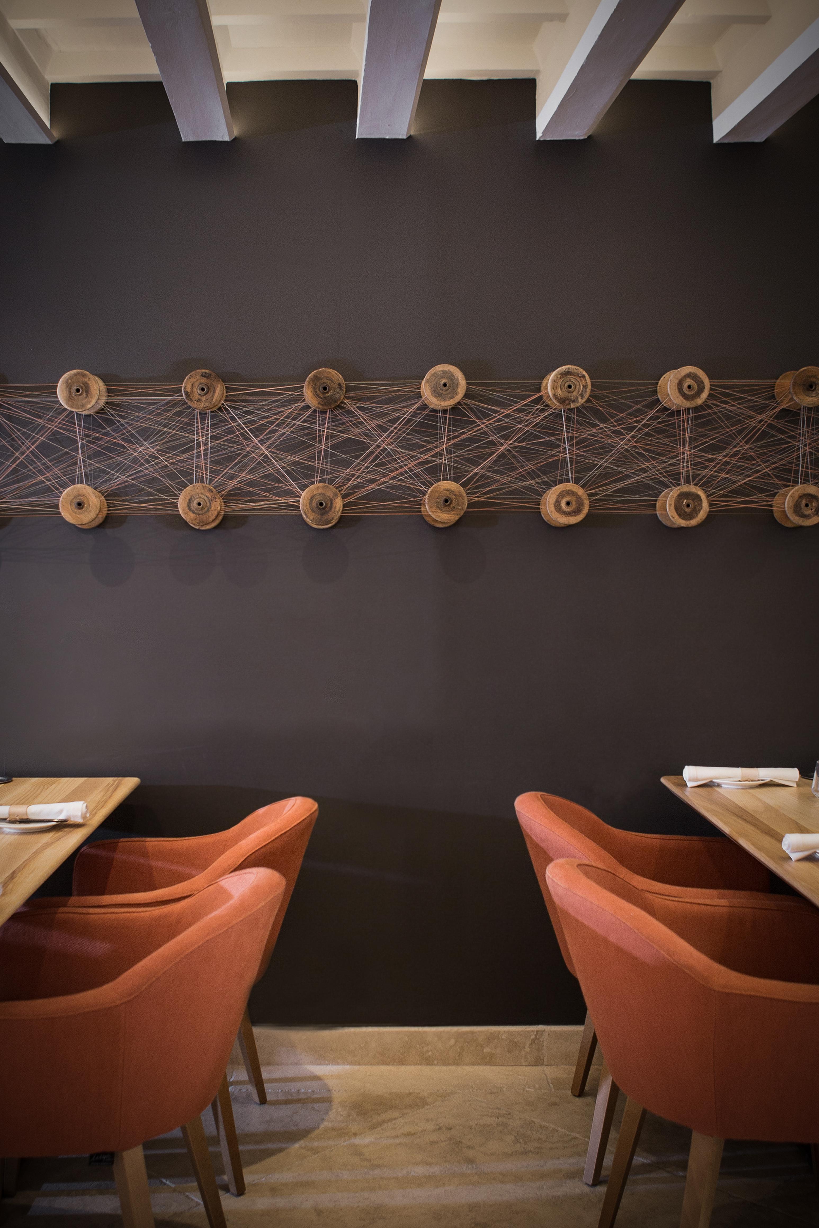 Obra de Toni Garau en el restaurante Fera