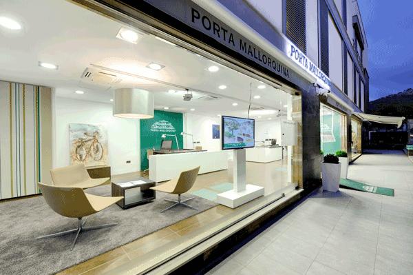 Oficina de inmuebles de Porta Mallorquina en Andratx
