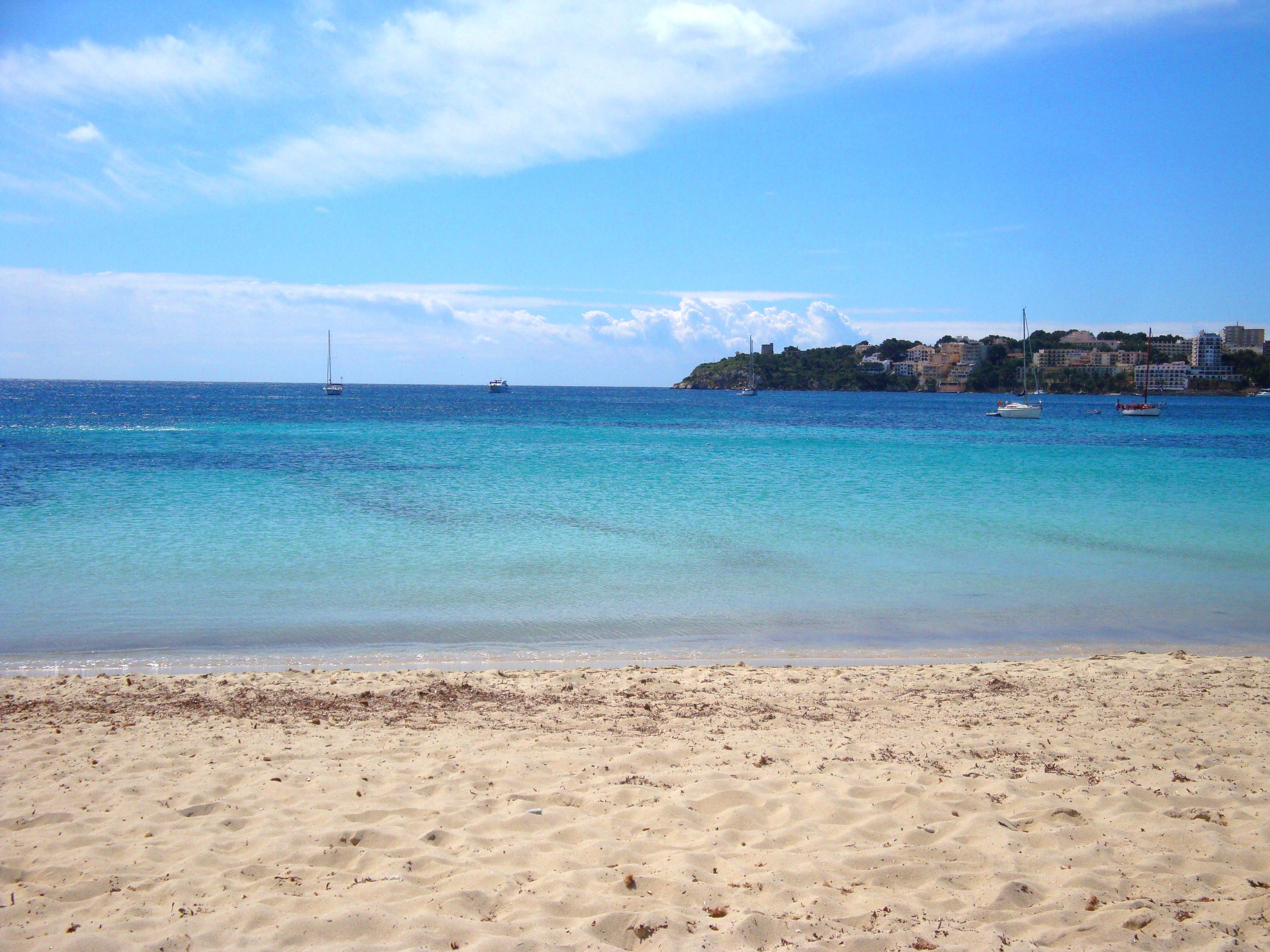 Playa de Alcudia en Mallorca