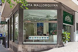 Porta Mallorquin en Palma en Mallorca