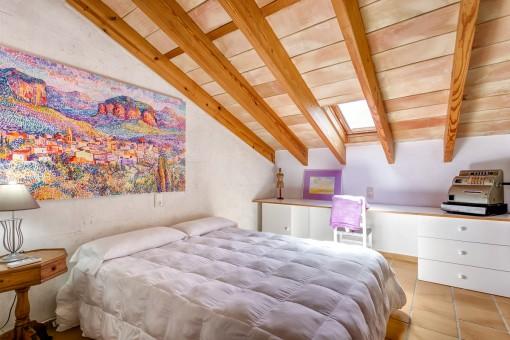 Acogedor dormitorio principal