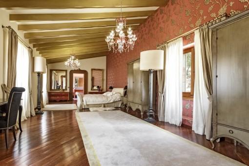 Dormitorio principal de lujo