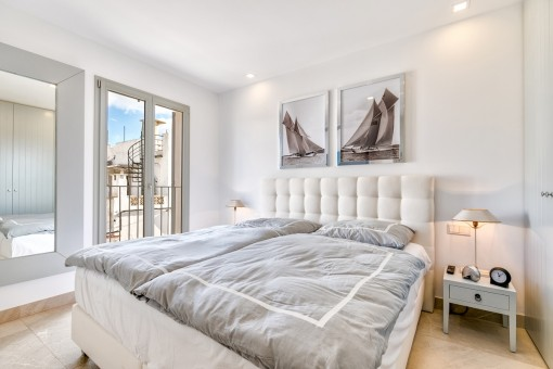 Dormitorio doble encantador