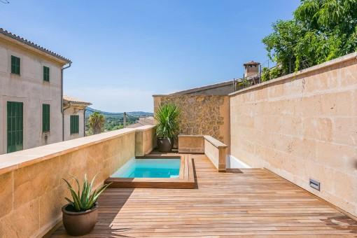 Exclusiva casa de campo con piscina en una zona céntrica de Búger