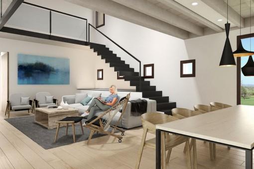 Decoración interior moderno