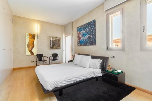 Uno de 5 dormitorios espaciosos