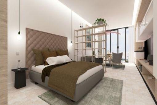 Vista posible de un dormitorio