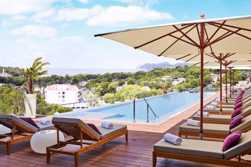 Vista posible de la terraza del hotel