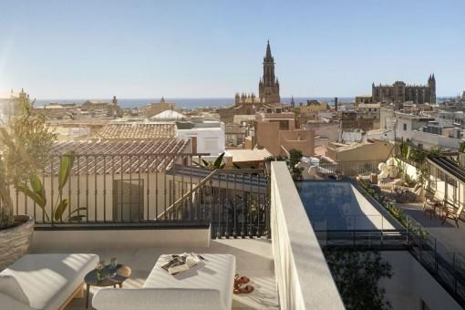 Apartamento der lujo con terraza en Palma