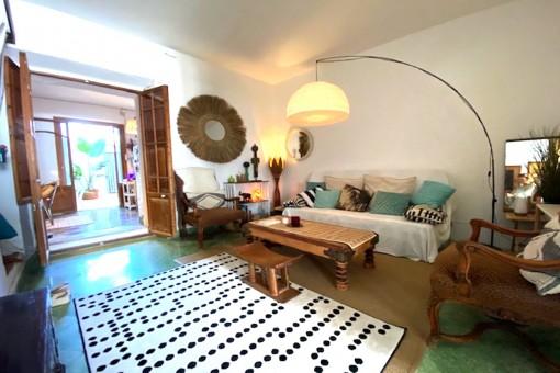 Casa tradicional con mucho encanto y terraza en Felanitx