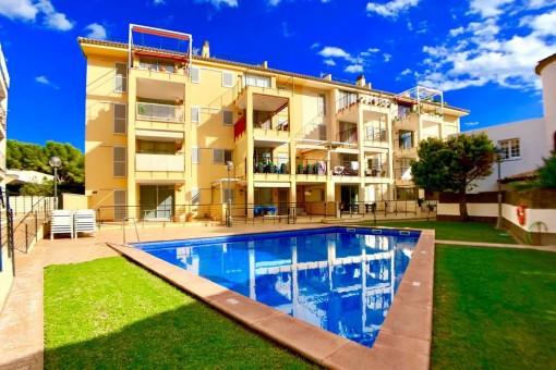 Soleado apartamento en planta baja en una hermosa ubicación en Cala Ratjada