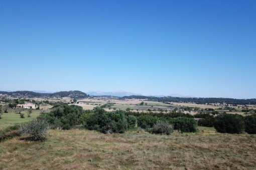 Vista a la Sierra de Tramuntana