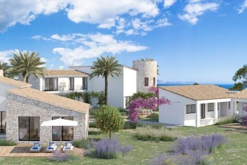 Proyecto de ensueño en una ubicación única cerca de Artà con acceso directo a una de las bahías naturales más hermosas de Mallorca
