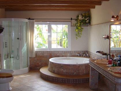 En suite baño