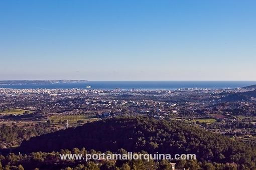 Vistas panorámicas sobre Palma