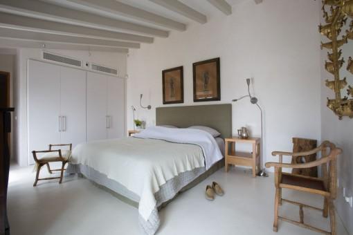 Dormitorio principal con vistas bonitas