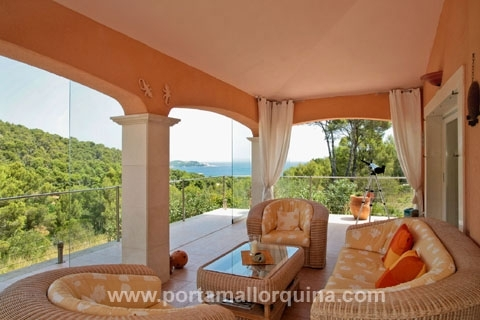 Villa de alta calidad con vistas al mar y sobre la Bahía de Cala Ratjada