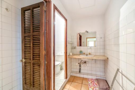 Uno de los baños