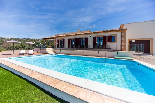 Finca Mediterranea con vistas panoramicas, en Puntiro