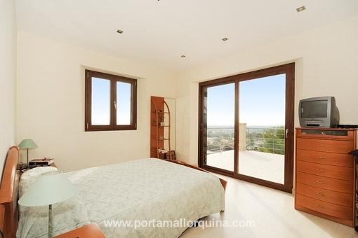 Dormitorio con vistas fantásticas