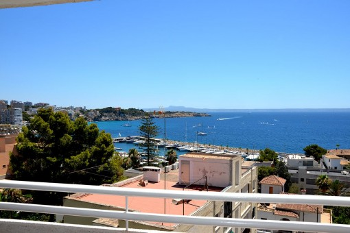 Maravillosa Apartamento con vistas al mar en Cas Catala - alquilar