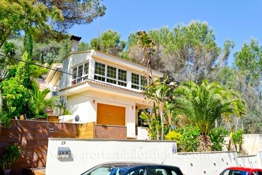 Casa decorado con buen gusto en zona tranquila en Costa den Blanes