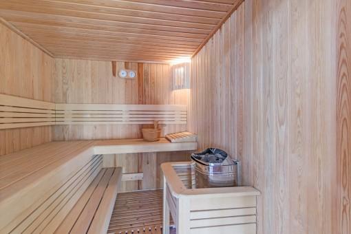 Sauna para los días más fríos