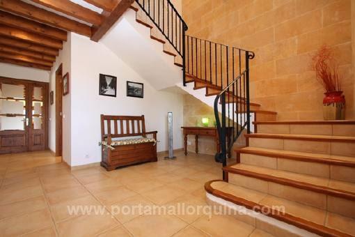 Finca de alta calidad con licencia etv y bonitas vistas for Escaleras bonitas