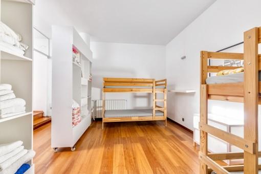 Habitación con cuchetas