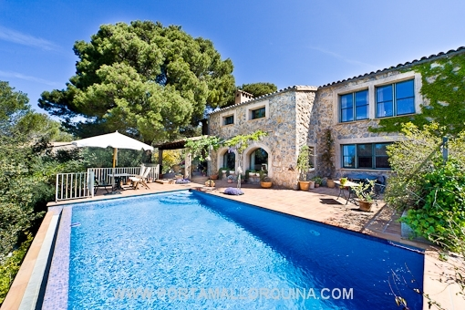 Acogedora villa en Valldemossa de gran calidad