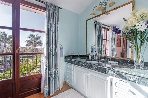 Vistas impressionante desde el baño