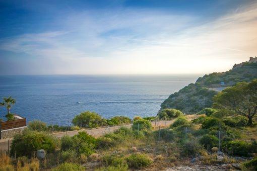 Vistas al mar mediterraneo impressionante