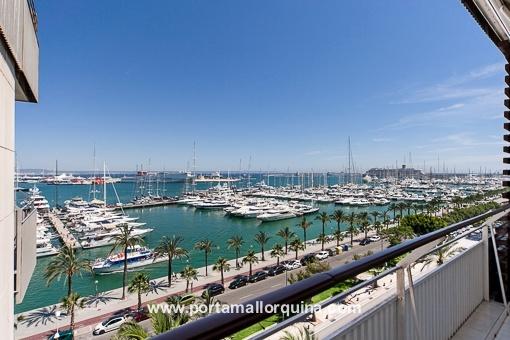 Bonito ático con vistas y muy completo en Paseo Marítimo de Palma