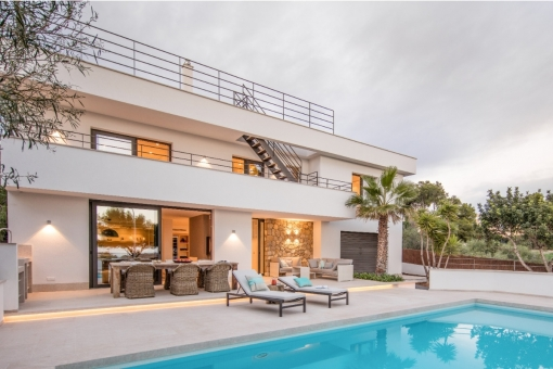 Villa idílica