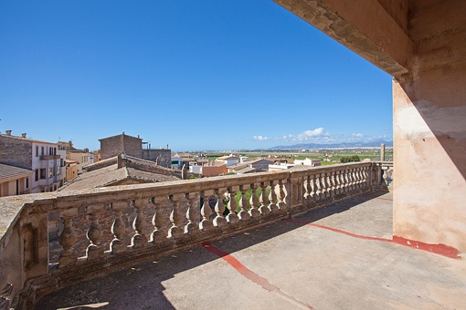 Terraza con impresionantes vistas a los alrededores
