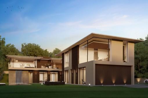 Villa impressionante