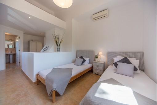 Cada dormitorio tiene un baño en suite