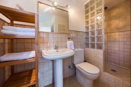 Todos los baños tienen el mismo estilo