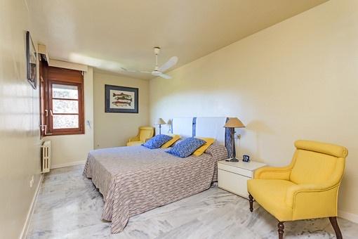 Dormitorio idílico