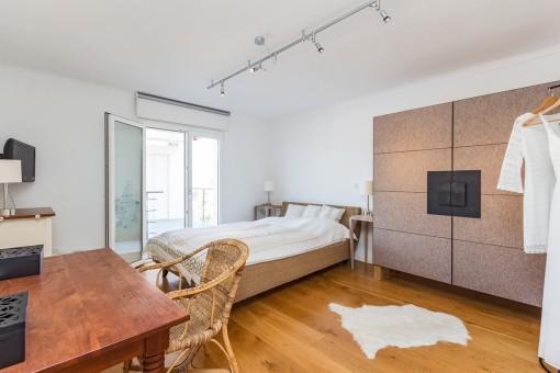 Acogedor dormitorio de invitados