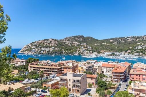 Impresionantes vistas al puerto