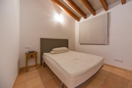 Dormitorio de huespédes pequeño
