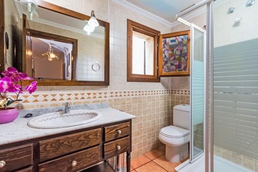 Fantástico baño en suite