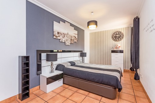Bonito dormitorio en la primera planta