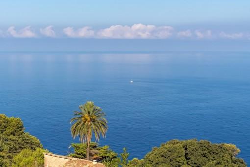 Impresionantes vistas panorámicas al mar